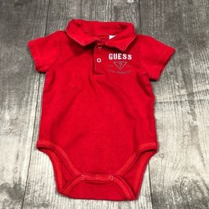 Guess Baby One Piece 3-6 Months Collared Top